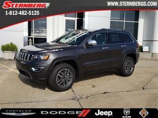 New 2019 Jeep Grand Cherokee LIMITED 4X4 Sport Utility 97223 for sale near Jasper, IN