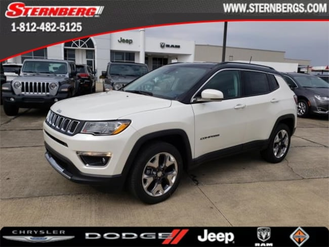 New 2019 Jeep Compass LIMITED 4X4 Sport Utility for sale near Jasper, IN