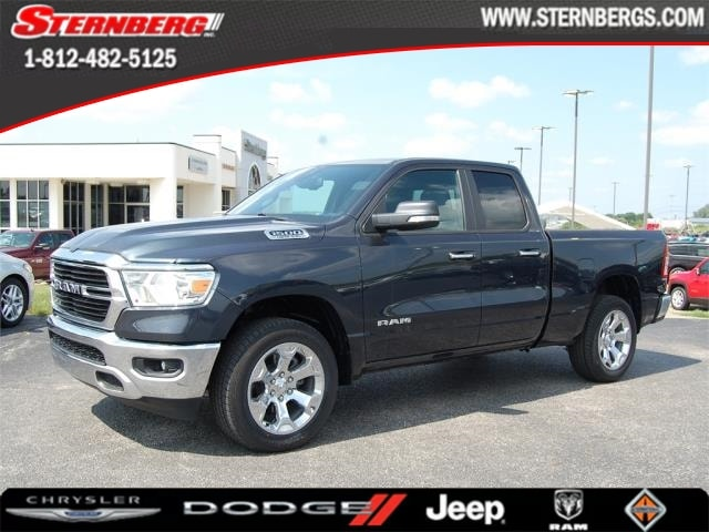 Featured new 2019 Ram All-New 1500 LARAMIE LONGHORN CREW CAB 4X4 5'7 BOX Crew Cab for sale in Jasper, IN.