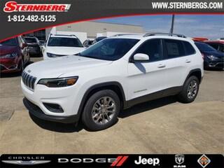 New 2019 Jeep Cherokee LATITUDE PLUS FWD Sport Utility 97189 for sale near Jasper, IN