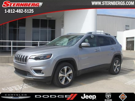 Featured new 2019 Jeep Cherokee LIMITED FWD Sport Utility for sale in Jasper, IN.
