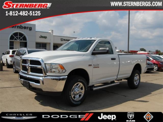 Featured new 2018 Ram 2500 TRADESMAN REGULAR CAB 4X4 8' BOX Regular Cab for sale in Jasper, IN.