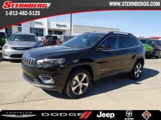 New 2019 Jeep Cherokee LIMITED 4X4 Sport Utility 95219 for sale near Jasper, IN