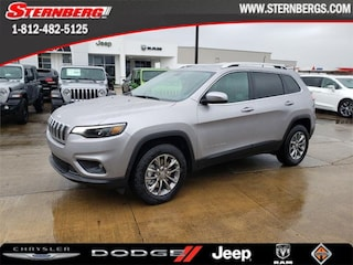 New 2019 Jeep Cherokee LATITUDE PLUS 4X4 Sport Utility 97167 for sale near Jasper, IN