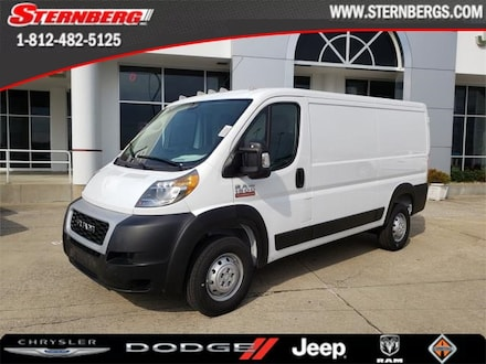 Featured new 2019 Ram ProMaster 1500 CARGO VAN LOW ROOF 136 WB Cargo Van for sale in Jasper, IN.