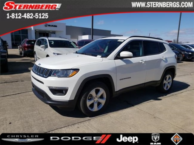 New 2019 Jeep Compass LATITUDE FWD Sport Utility for sale near Jasper, IN