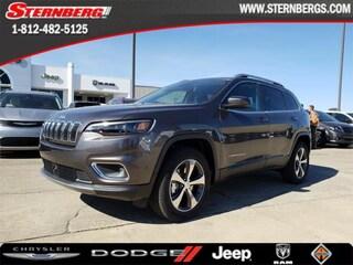 New 2019 Jeep Cherokee LIMITED 4X4 Sport Utility 95298 for sale near Jasper, IN