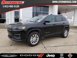 New 2019 Jeep Cherokee LATITUDE 4X4 Sport Utility 97083 for sale near Jasper, IN