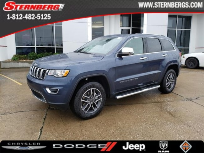 New 2019 Jeep Grand Cherokee LIMITED 4X4 Sport Utility for sale near Jasper, IN