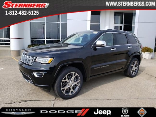 New 2019 Jeep Grand Cherokee OVERLAND 4X4 Sport Utility for sale near Jasper, IN