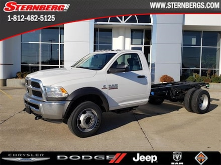 Featured new 2018 Ram 4500 Chassis Cab 4500 TRADESMAN CHASSIS REGULAR CAB 4X4 168.5 WB Regular Cab for sale in Jasper, IN.
