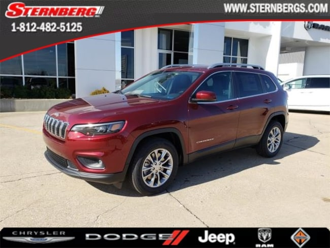 New 2019 Jeep Cherokee LATITUDE PLUS FWD Sport Utility for sale near Jasper, IN