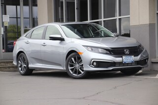 New 2019 Honda Civic EX Sedan JHMFC1F31KX011848 for sale in Fairfield, CA at Steve Hopkins Honda