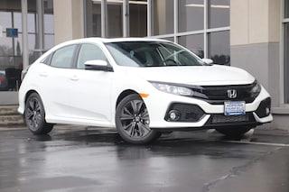 New 2018 Honda Civic EX Hatchback JU432696 for sale in Fairfield, CA at Steve Hopkins Honda
