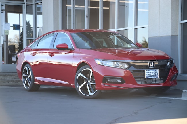 New 2019 Honda Accord Sport Sedan for sale in Fairfield, CA at Steve Hopkins Honda