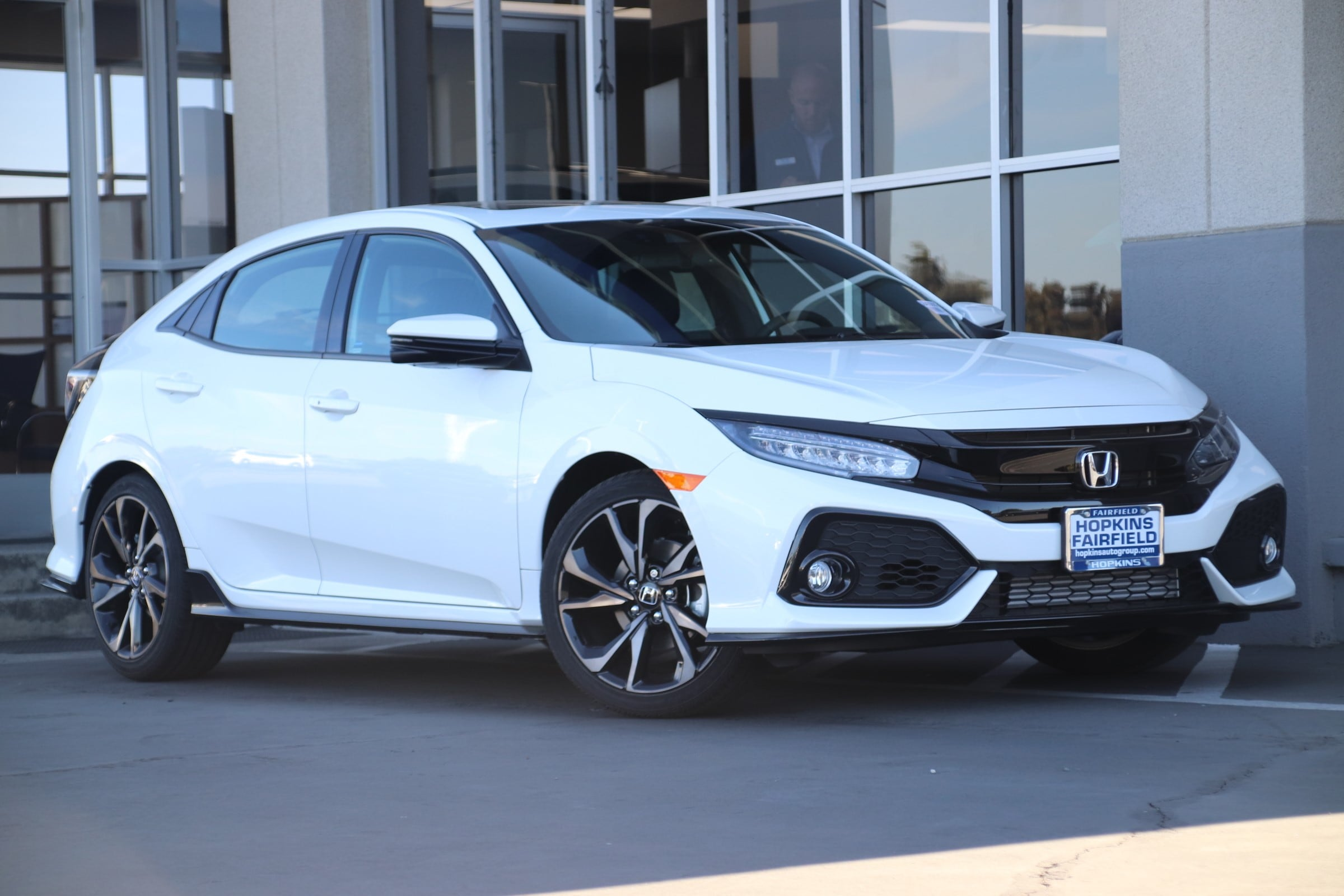 New 2018 Honda Civic Sport Touring Hatchback For Sale In Fairfield, CA