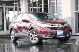 New 2019 Honda CR-V EX 2WD SUV 7FARW1H58KE009131 for sale in Fairfield, CA at Steve Hopkins Honda