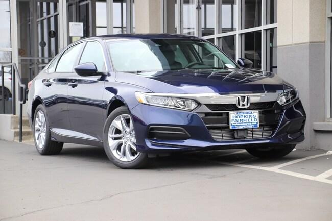 New 2019 Honda Accord LX Sedan for sale in Fairfield, CA at Steve Hopkins Honda