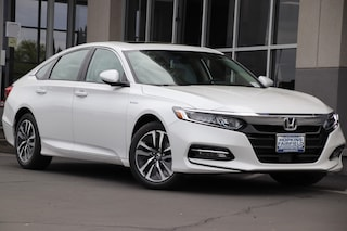 New 2019 Honda Accord Hybrid EX Sedan 1HGCV3F46KA010217 for sale in Fairfield, CA at Steve Hopkins Honda