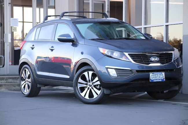 2012 Kia Sportage EX SUV for sale at Steve Hopkins Honda in Fairfield, CA