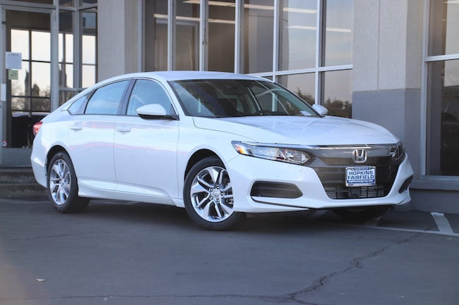 New 2019 Honda Accord LX Sedan for sale in Fairfield, CA at Steve Hopkins Honda