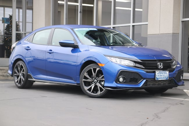 2018 Honda Civic Sport Hatchback for sale in Fairfield, CA at Steve Hopkins Honda