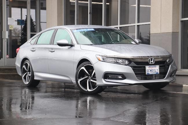 2018 Honda Accord Sport Sedan for sale in Fairfield, CA at Steve Hopkins Honda