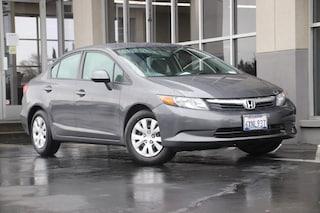2012 Honda Civic LX Sedan for sale in Fairfield, California at Steve Hopkins Honda