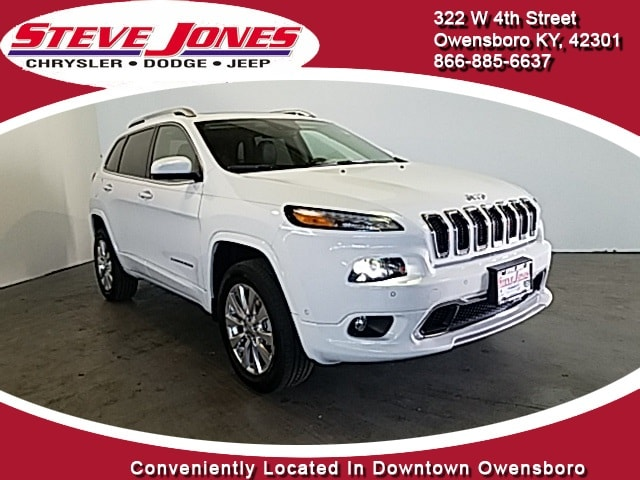 2017 Jeep Cherokee OVERLAND 4X4 Sport Utility