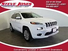 2017 Jeep Cherokee OVERLAND 4X4 Sport Utility