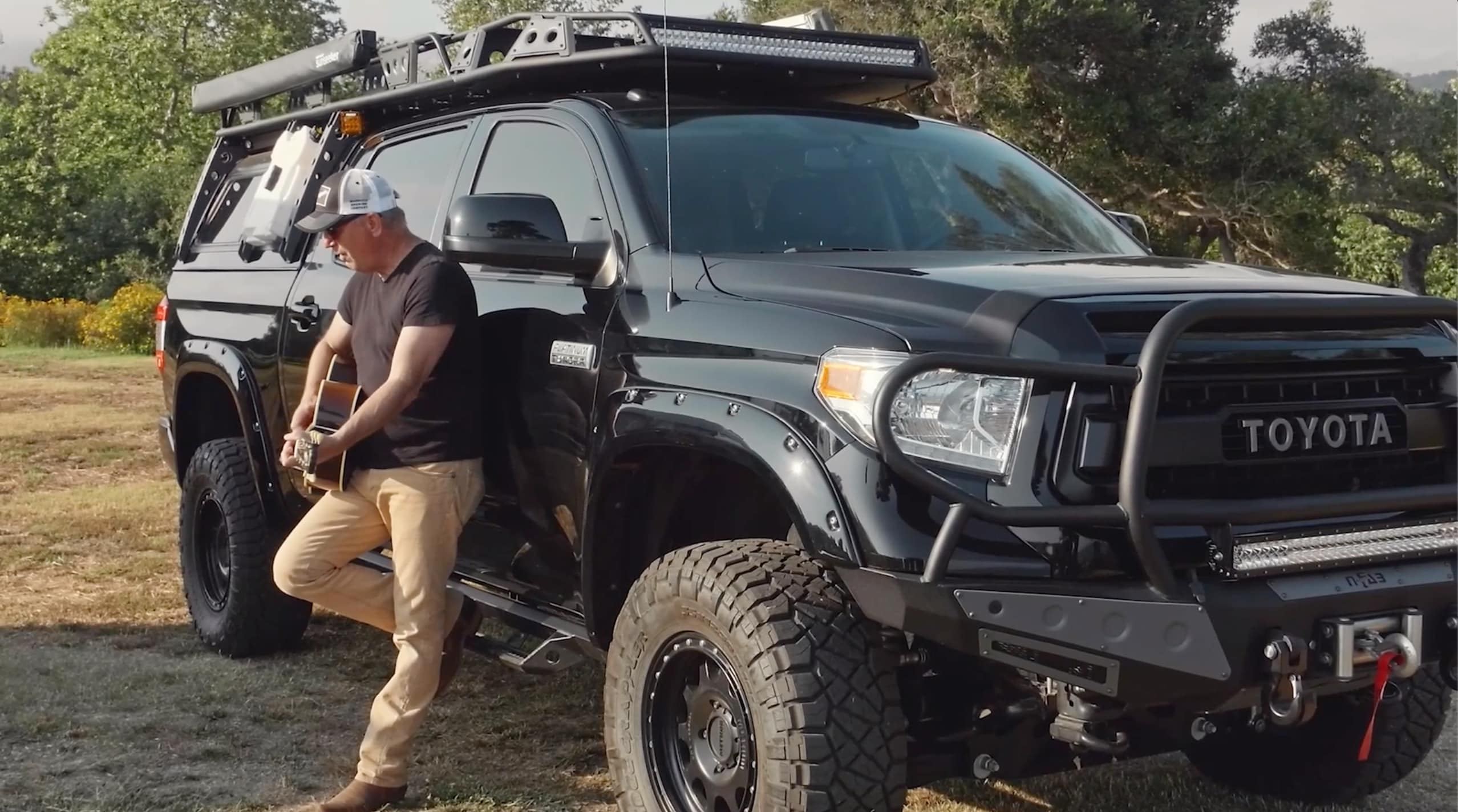 Kevin Costner Teams Up With Toyota To Built Custom Tundra