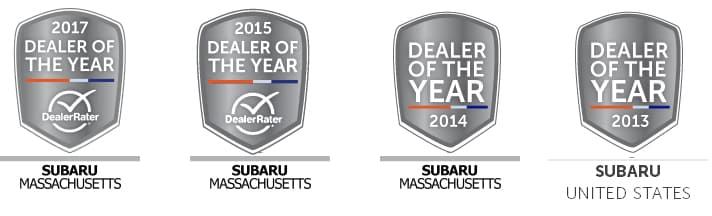Four Dealer of the Year Awards to Steve Lewis Subaru