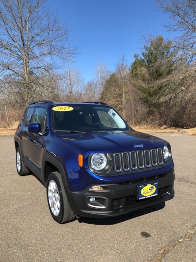 Used 2017 Jeep Renegade Latitude SUV Hadley