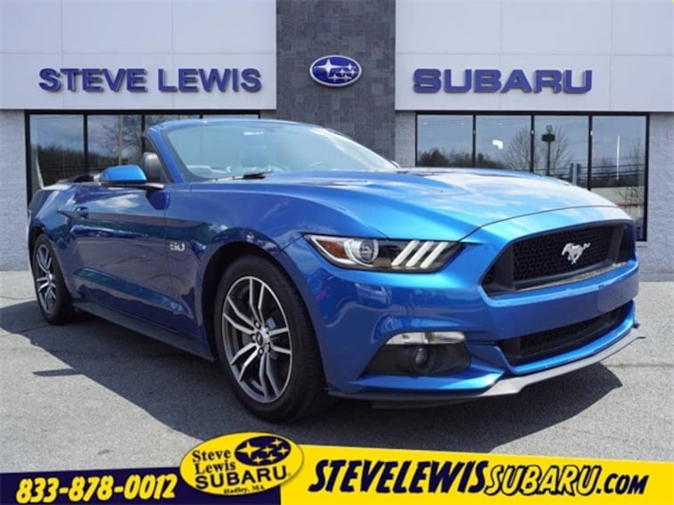 Used 2017 Ford Mustang GT Premium Convertible Hadley