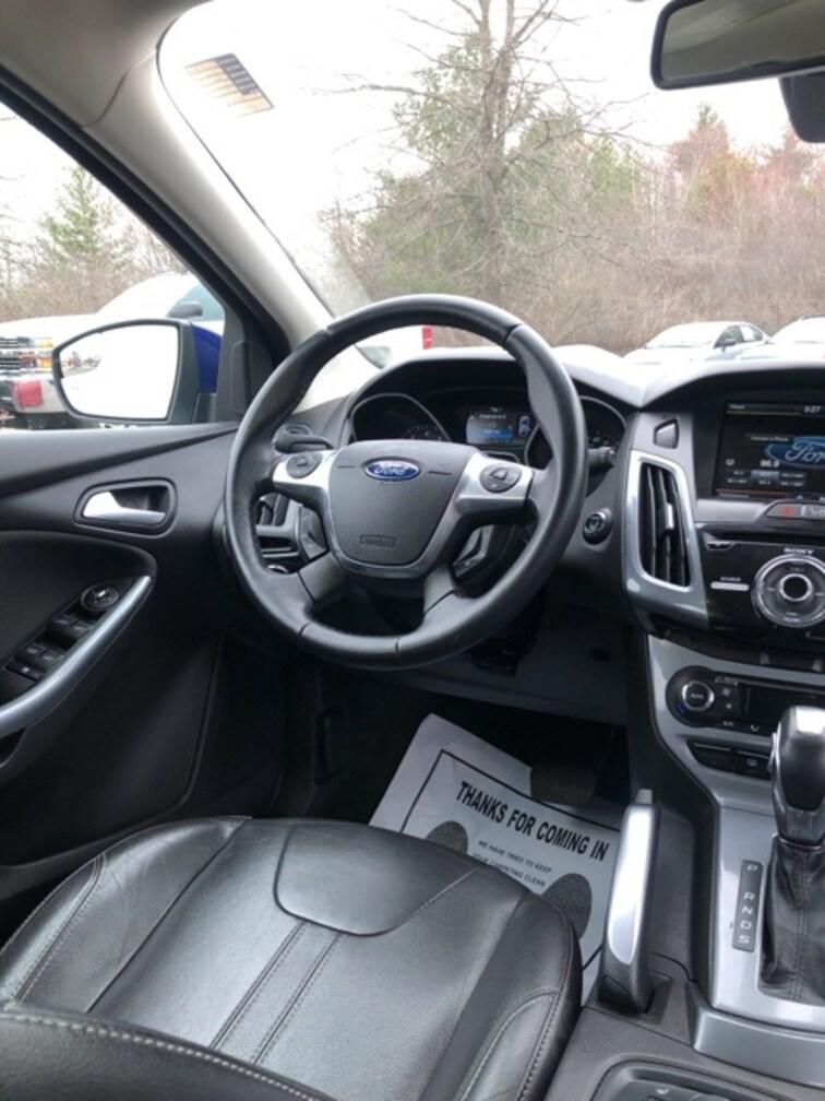 Used 2012 Ford Focus Titanium Hatchback Hadley