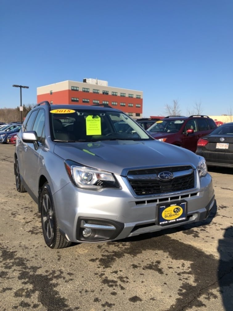 Certified 2018 Subaru Forester 2.5i Limited SUV Hadley