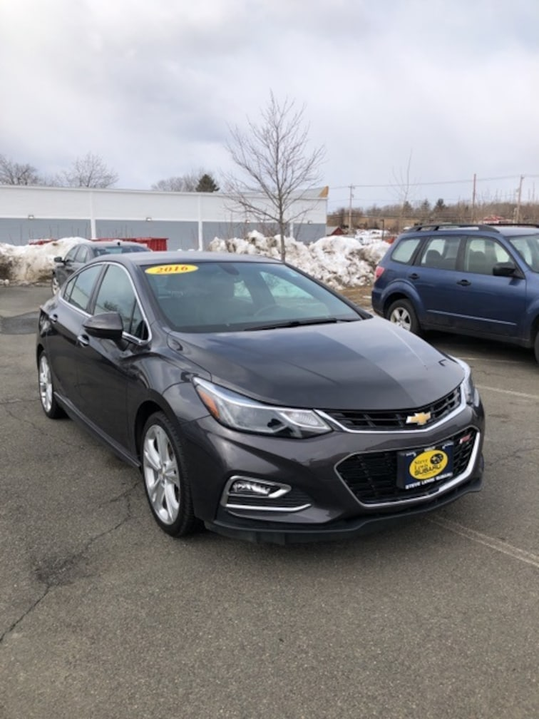 Used 2016 Chevrolet Cruze Premier Sedan Hadley