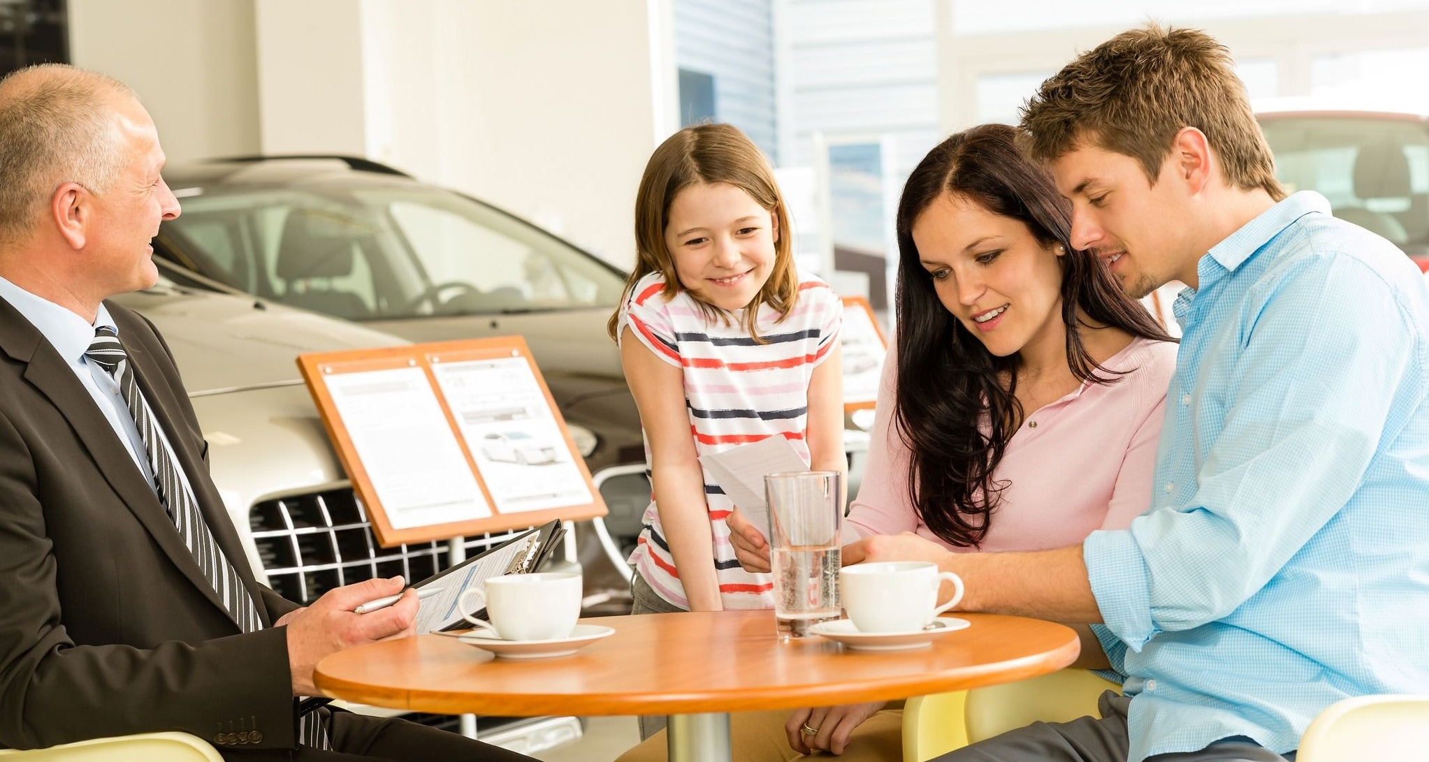 Family Financing at a Dealership