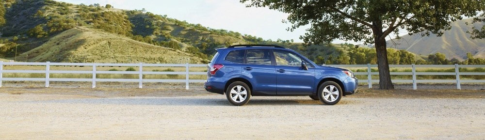 History of the Subaru Forester - blue 2015 Subaru Forester in Hadley, MA