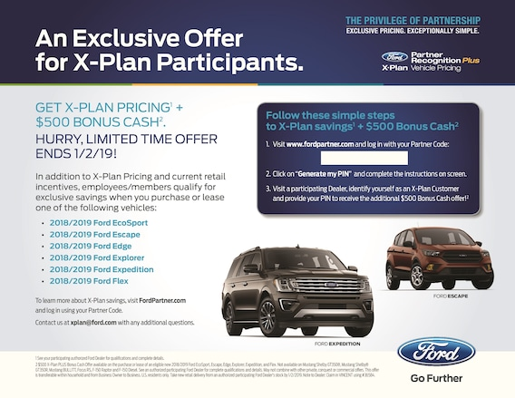 X Plan Promotion Steve Marsh Ford