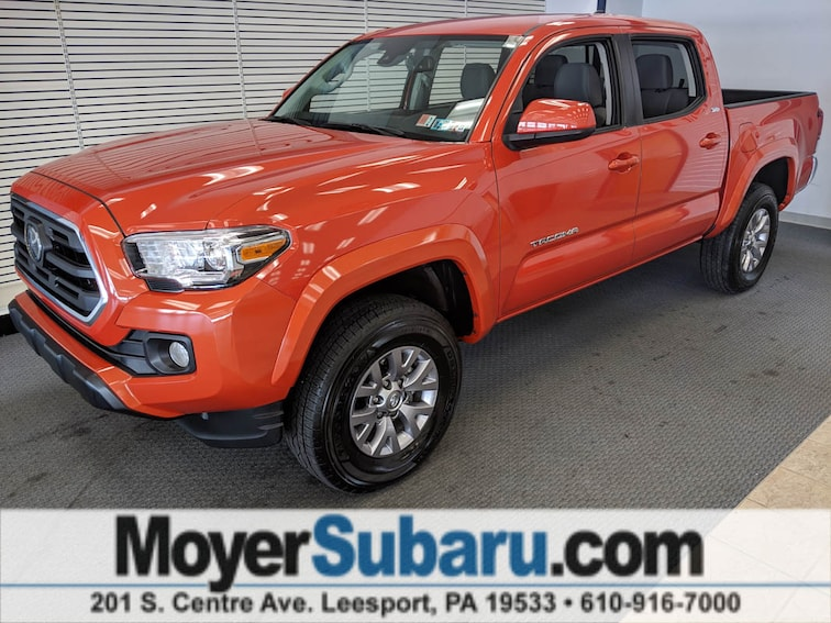 Used 2018 Toyota Tacoma Truck Double Cab for sale in Leesport, PA