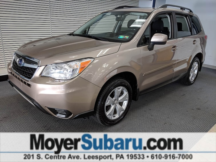 Certified Pre-Owned 2016 Subaru Forester 2.5i Premium SUV near Reading, PA