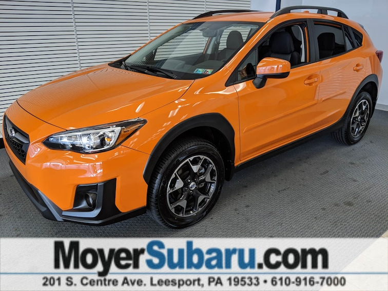 Certified Pre-Owned 2018 Subaru Crosstrek 2.0i Premium with Starlink SUV near Reading, PA