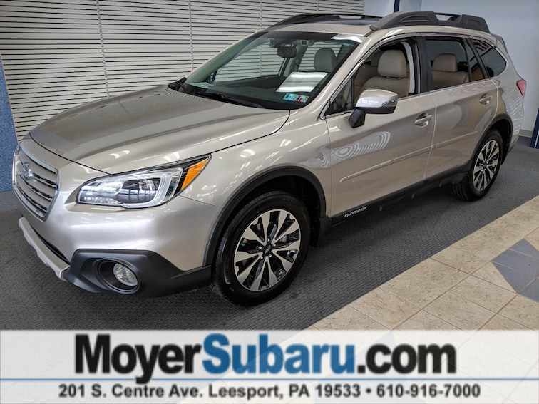 Certified Pre-Owned 2016 Subaru Outback 2.5i Limited SUV near Reading, PA