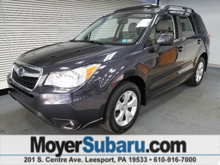 Certified Pre-Owned 2015 Subaru Forester 2.5i Limited (CVT) SUV near Reading, PA
