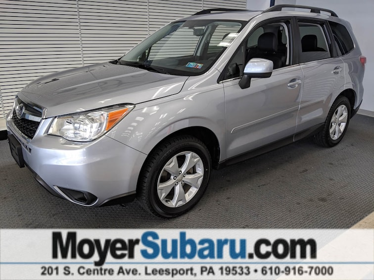 Certified Pre-Owned 2016 Subaru Forester 2.5i Limited SUV near Reading, PA