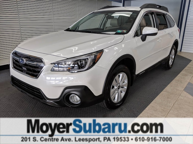 Certified Pre-Owned 2018 Subaru Outback 2.5i Premium with SUV near Reading, PA
