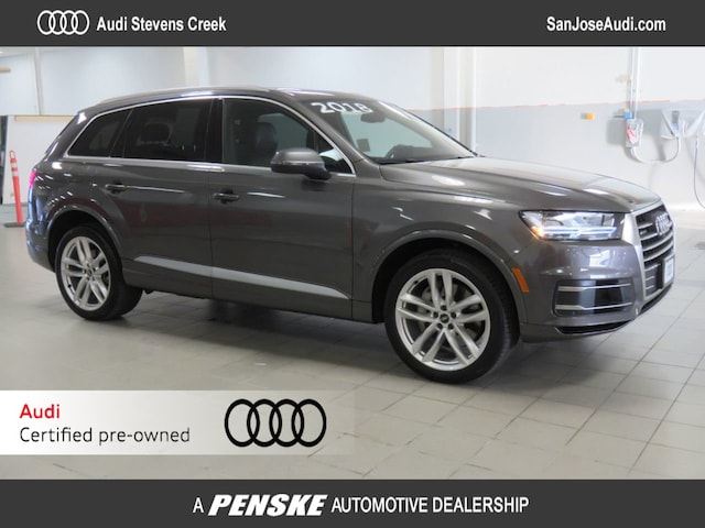 Certified Pre-Owned 2018 Audi Q7 3.0 TFSI Prestige SUV for Sale in San Jose, CA