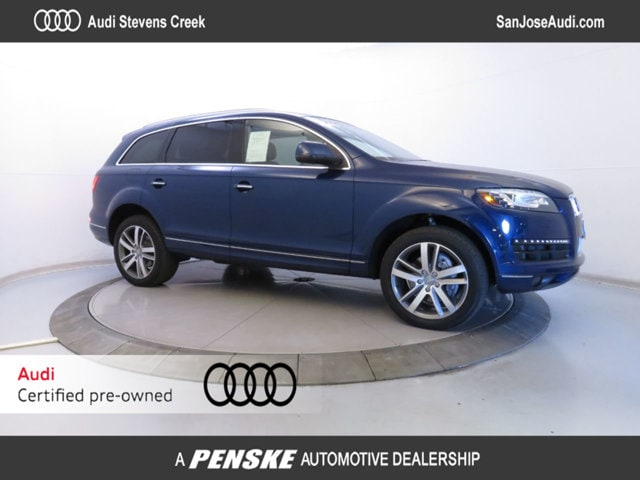 New 2015 Audi Q7 quattro  3.0L TDI Premium Plus SUV in San Jose, CA