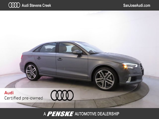 Certified Pre-Owned 2017 Audi A3 2.0 TFSI Premium quattro AWD Sedan for Sale in San Jose, CA